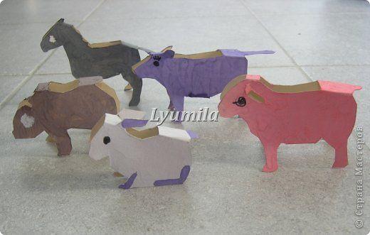 Мастер-класс Раннее развитие Вырезание Бумажные животные Гуашь Капрон фото 1