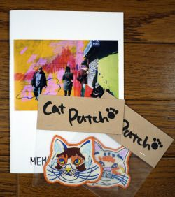 I'm going to participate in a group exhibition in Osaka and sell zines and cat patches from 23 Jul to 9 Aug. 関西の複数のギャラリーで開催される「協同企画展おんさ」に参加します。新作の展示の他にもzineと猫のワッペンも販売しますので、ぜひお越し下さい。 http://onsa-pr.info/2015_exhibition/ 参加会場:la galerie...