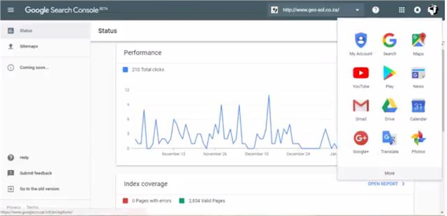 2018 - Google Search Console - New Webmaster Tools - Google just launched a new Search Console for Google Webmaster Tools ...