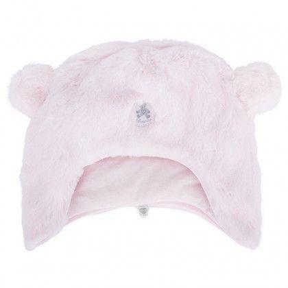 Absorba Childrens Designer Clothes - Baby Girl Faux Fur Hat - Dandy Lions Boutique