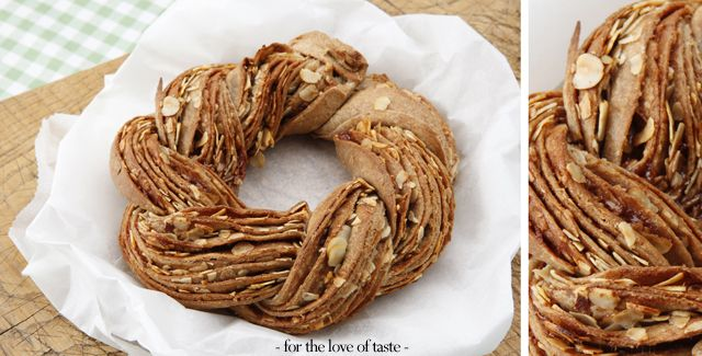 Delicious braided hazelnut- cinnamon Easter bread - make you look like a real kitchen princess at once.  http://fortheloveoftaste.wordpress.com/2013/03/25/braided-hazelnut-cinnamon-easter-bread/