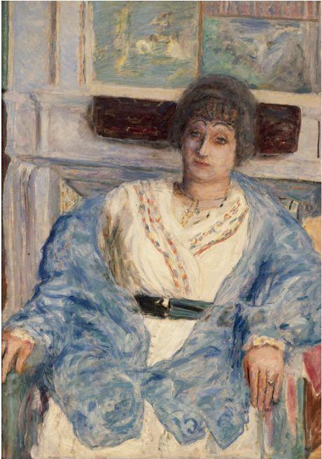 Pierre Bonnard (1867-1947), 1916, Portrait de Madame Émile Bernheim.