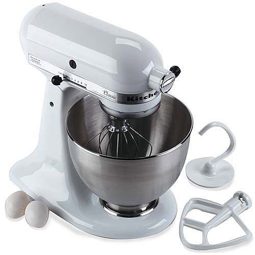 kitchenaid stand mixer sale. white 5 quart kitchenaid stand mixer with mixing bowl sale