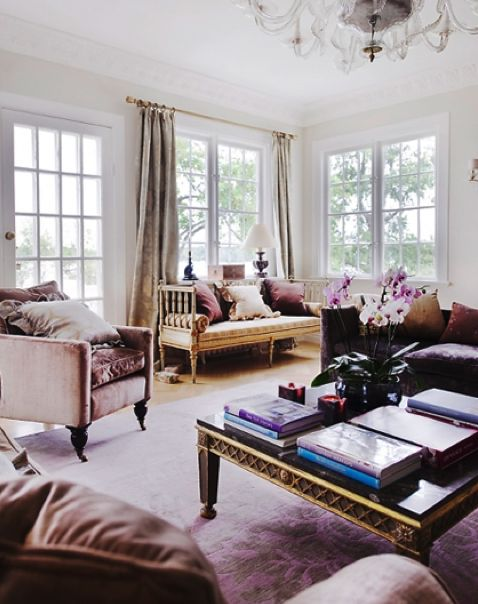 Color Soiree: Muted Mulberry