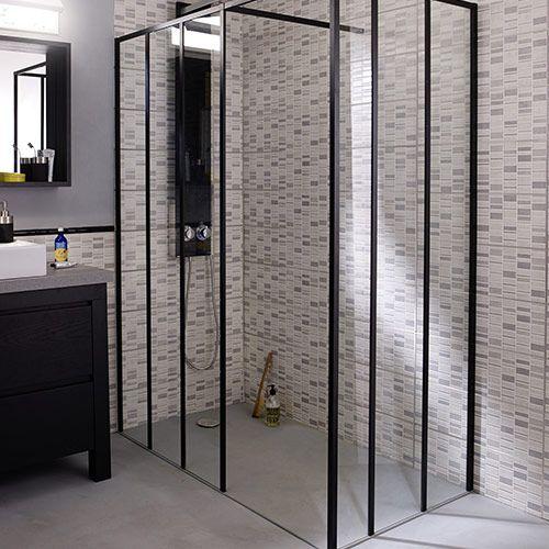 les 23 meilleures images du tableau douche l 39 italienne sur pinterest douche italienne salle. Black Bedroom Furniture Sets. Home Design Ideas