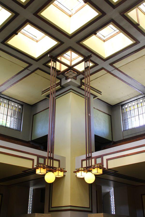 Frank Lloyd Wrightu0027s Unity Temple 1906 was