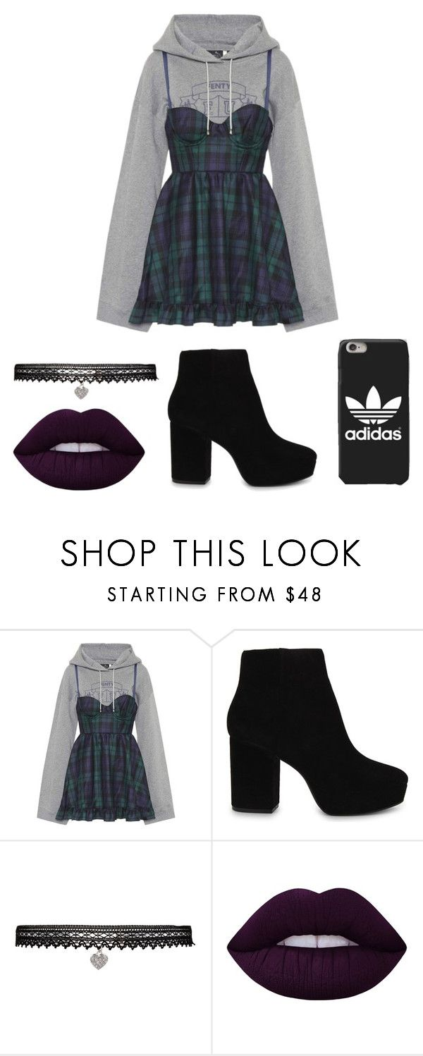 """""""You In Me"""" by agustgivemethed ❤ liked on Polyvore featuring Puma, ALDO, Betsey Johnson and Lime Crime"""