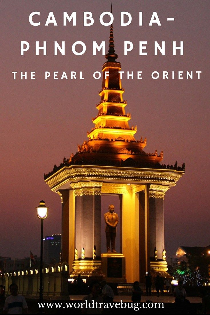 Phnom Penh - between the Pearl of the Orient and the horrors of Khmer Rouge. Here is a guide on what to do, see, where to eat & drink, sleep. And lots of wonderful photos creating a visual guide of this special city