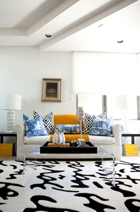 54 best kids room black and white images on pinterest - Deco room oranje ...