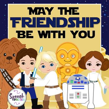May the Friendship Be With You: Social Skills ActivityHelp early elementary students identify positive and negative characteristics of friendship.  Sorting mats (Friendship Force/Dark Side) & 32 characteristics.  Great for role-play and group discussions.