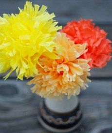 132 best spanish class images on pinterest learn spanish spanish how to make cempazuchitl flowers for day of the dead tissue paper mightylinksfo