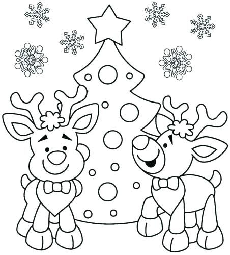 December Coloring Pages Kindergarten Sheets Nativity Page Printable