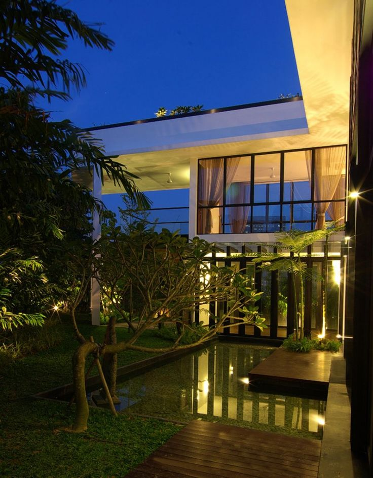 Green The Merlimau House Design by Aamer Architects Latest Architecture Ideas