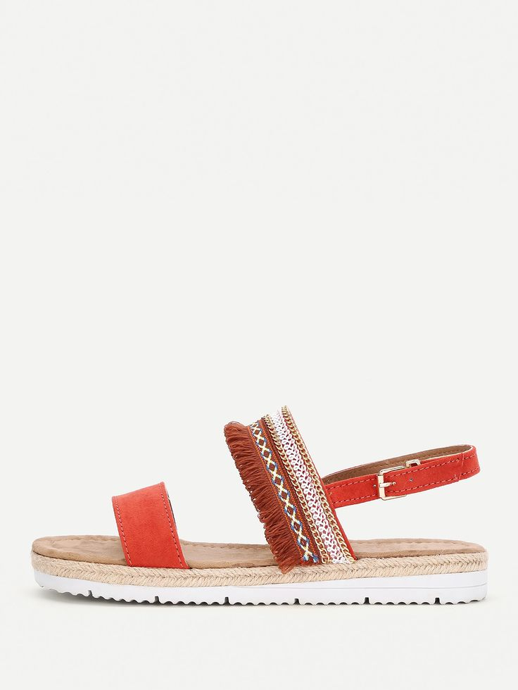 Shop Strappy Woven Flat Sandals online. SheIn offers Strappy Woven Flat Sandals & more to fit your fashionable needs.
