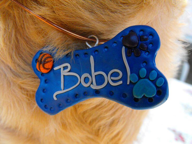 dog tag named with basketball
