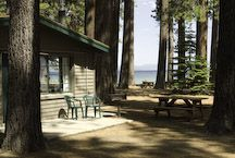 Think about how nice Lake Tahoe is, this time of year. And the smell of evergreens.