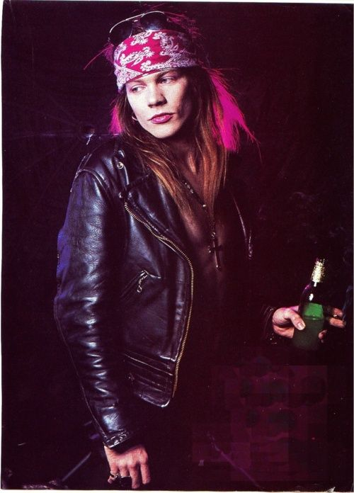 axl rose back in the day