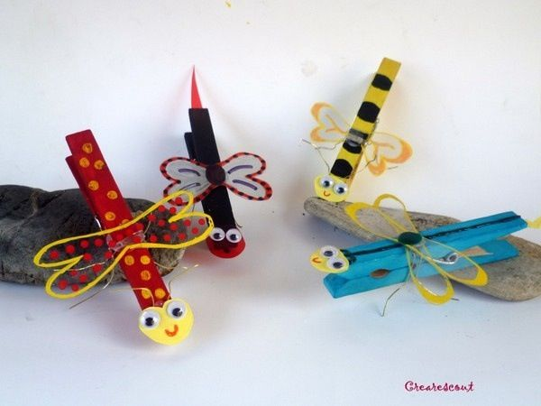 girl scout crafts | Bugs crafts | Girl Scout stuff