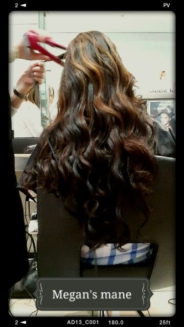 So blessed to have done Megan's beautiful mane