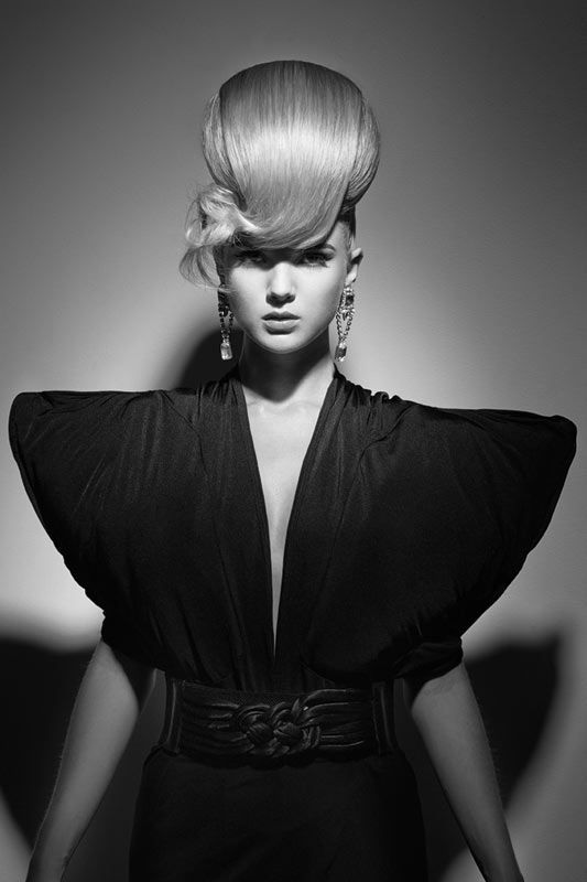 Labour of Lengths by Lorna Evans #hair #beauty #pro #hairdressing --See the whole collection & more #hairstyling images on www.salonmagazine.ca