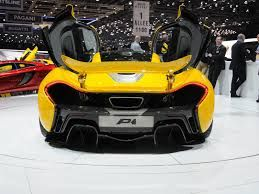 Mclaren p4 at the geneva motor show 2014