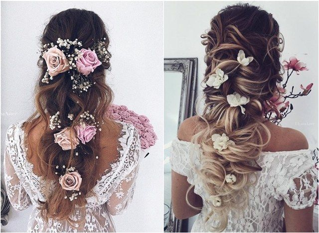 35 Wedding Updo Hairstyles For Long Hair From Ulyana Aster: 4947 Best Wedding Hairstyles Images On Pinterest
