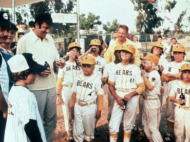 The Bad News Bears.  All we need are uniforms, more people, and a drunk guy to wear a polo shirt who yells at us and holds a clipboard.