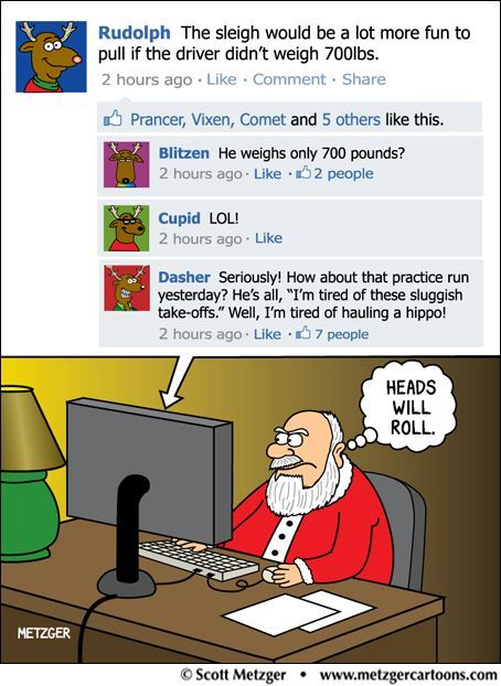 Heads will roll. Internet Site,  Website, Santa, Funny Christmas, Web Site, Social Media, Friday Funny, Funny Stuff, North Pole
