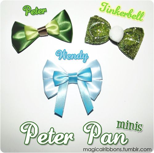 Magical Ribbons - great ideas for disney inspired ribbons!
