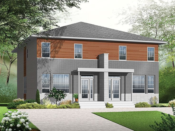 48 Best Images About Multi Family House Plans On Pinterest