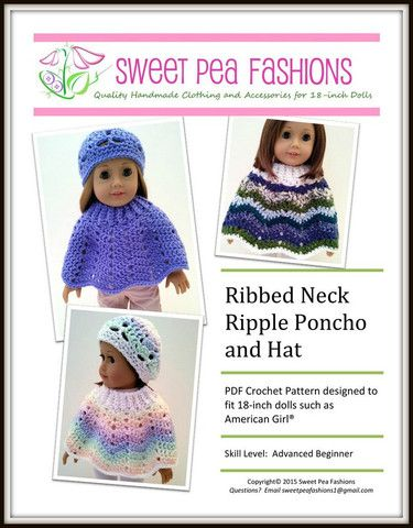 The 734 best Doll Clothes images on Pinterest | American girl dolls ...