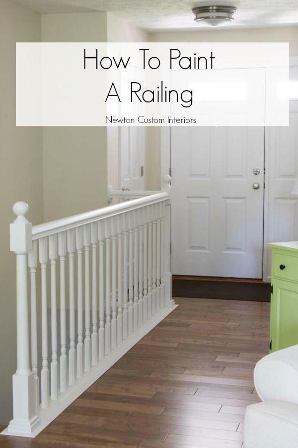 Best 25 Painted Stair Railings Ideas On Pinterest Black