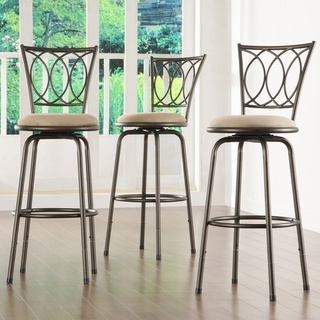 @Overstock - Modernly classic scroll work decorates the back of these Avalon bar stools. This set comes with three (3) chairs ready to accent your bar area.http://www.overstock.com/Home-Garden/Avalon-Scroll-Back-Adjustable-Swivel-Bar-Stools-Set-of-3/4302147/product.html?CID=214117 $112.49: Swivel Bar Stools, Adjustable Swivel, Counter Barstool, Swivel Barstool, Avalon Scrolls, Bar Area, Barstool Sets, Overstock Com, Scrolls Adjustable
