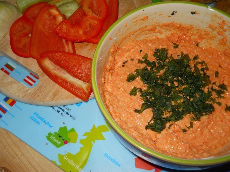 From Veggie to Vegan: Karotten-Paprika-Aufstrich
