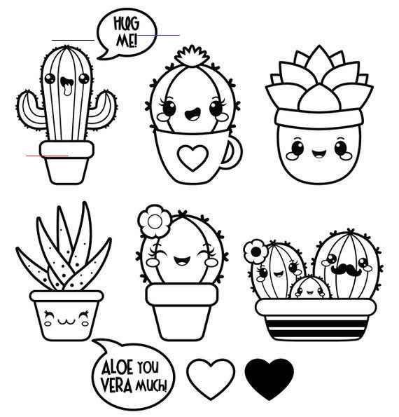 Kawaii Clipart Succulent Clipart Valentine Clipart Kawaii Cactus Clipart Kawaii Clipart Kawaii Cac In 2020 Kawaii Clipart Cactus Clipart Drawings For Boyfriend