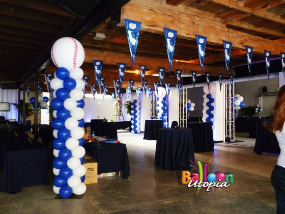 Sports Theme Balloon Decorations San Diego Balloons