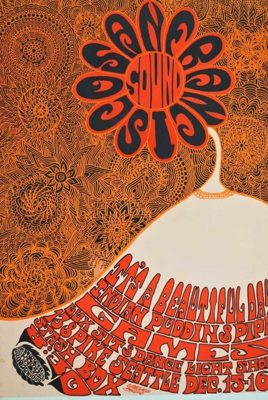 San Francisco Sound   1967 psychedelic poster