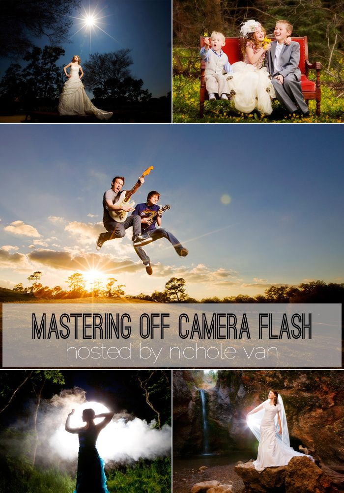 Mastering Your Off Camera Flash online Bloom Workshop with the incredible Nichole Van!  http://www.everythingbloom.com/mastering-off-camera-flash-with-nichole-van-2
