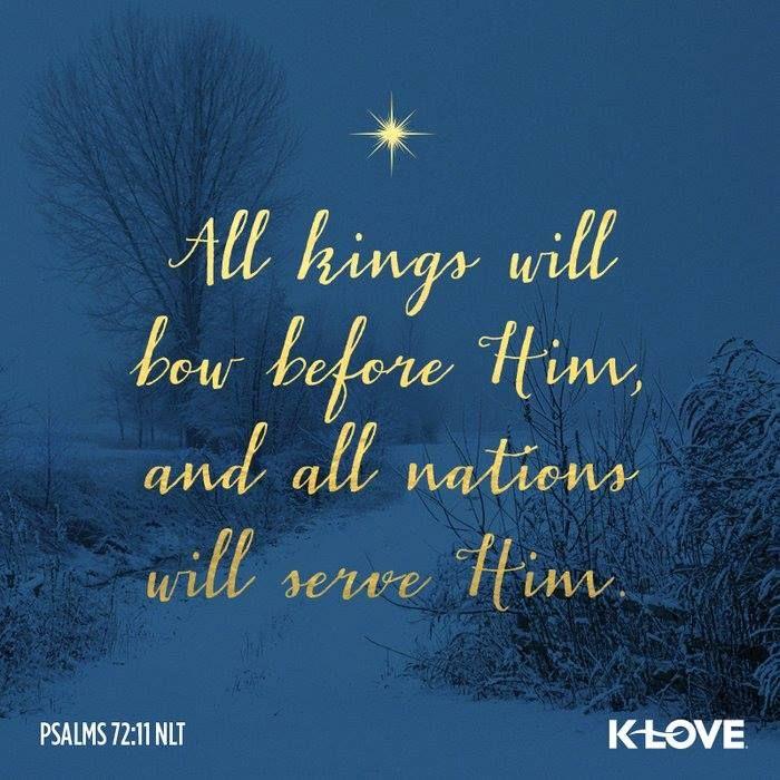 Psalm 72:11 (NLT)