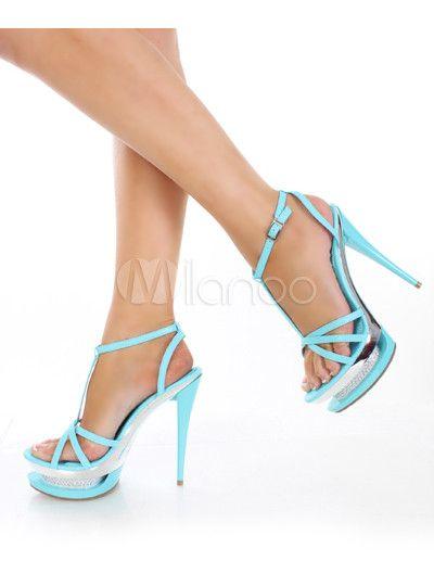 #Milanoo.com Ltd          #Sexy Sandals             #Sexy #Blue #Leather #7/10'' #High #Heel #1/2'' #Platform #Womens #Sandals    Sexy Blue PU Leather 5 7/10'' High Heel 1 1/2'' Platform Womens Sandals                                 http://www.seapai.com/product.aspx?PID=5719328