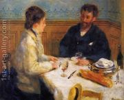 The Luncheon  by Pierre Auguste Renoir