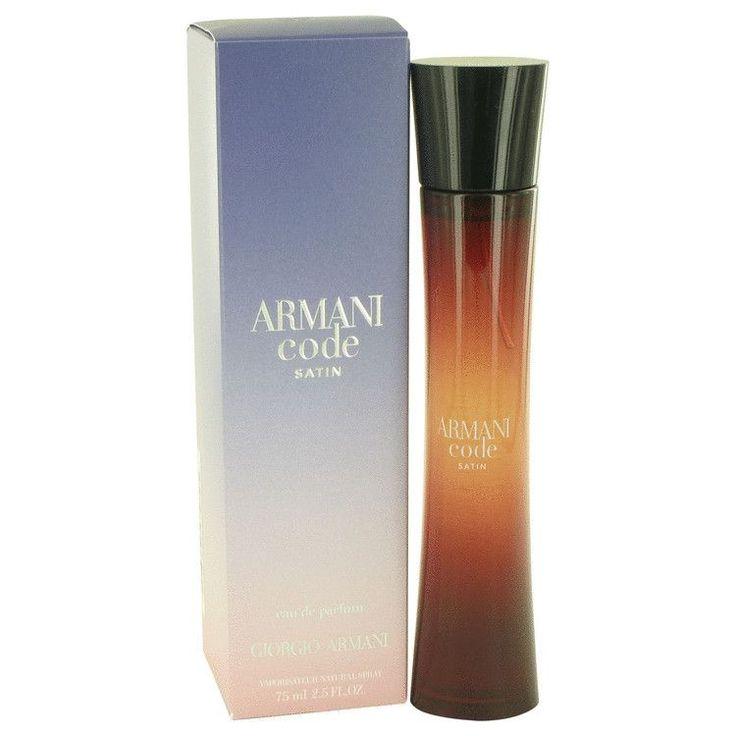 Armani Code Satin Perfume By Giorgio Armani Eau De Parfum Spray ***** More Info: www.dutyfreedepot.com/brandlist.aspx?brandsection=10&Intern=1opranda&bn=0