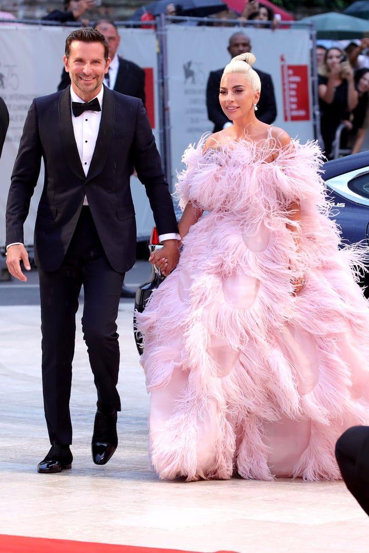 fbbdfe3239964 Lady Gaga Pink Valentino Dress Venice Film Festival