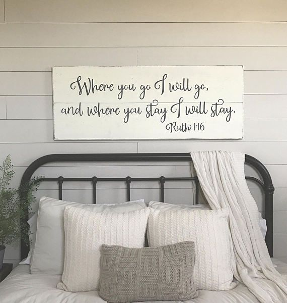 24 Creative Bedroom Wall Decor Ideas: 196 Best Decor For Farmhouse Images On Pinterest