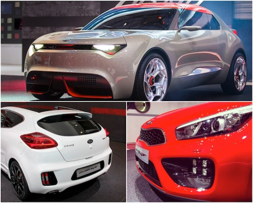 In case you missed it, we just revealed the Kia cee'd GT, pro_cee'd GT and the provo concept at the Geneva Motor Show! #auto #cars #motorshow