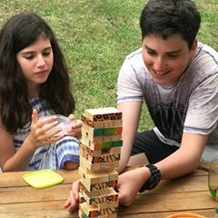 A family Christmas with a challenge. The WWF Tumble Tower is something everyone can get in to and puchases support the amazing work done by World Wide Fund for Nature