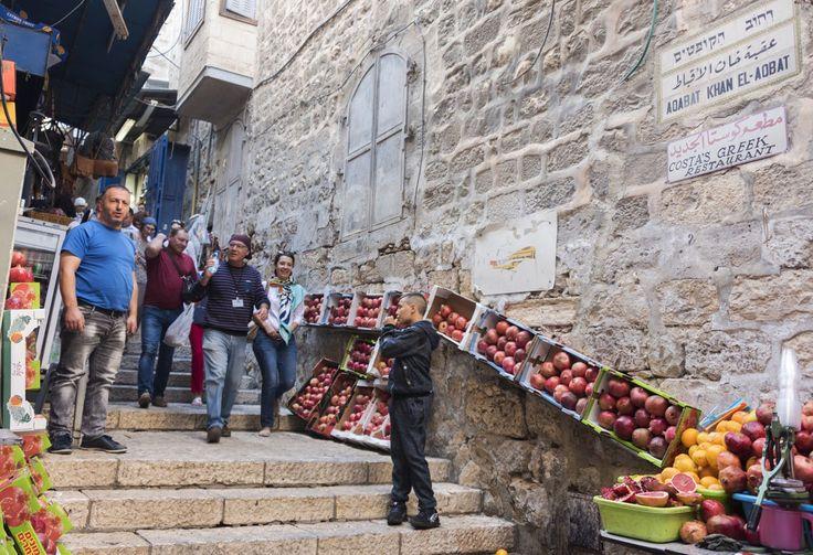 jerusalem old city apples