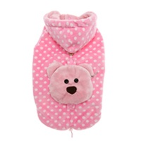 De Poo Spotty Pink Jacket - unfortunate name for such a cute little thing!