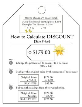 Active Notetaking in Math Foldables Finding DiscountsSale Price - Sarah Gilbert - TeachersPayTeache...