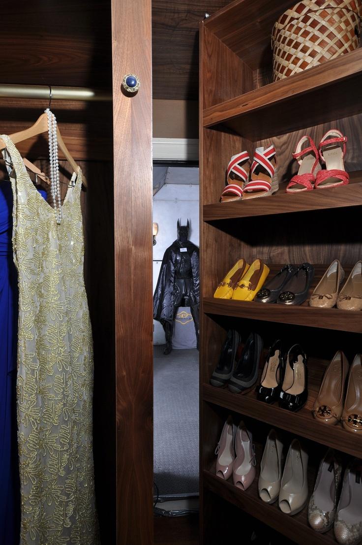 2013 Top Shelf: Winner   Closet Wood, Over 18 Linear Feet (secret Passage